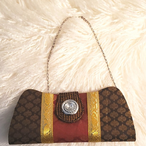 Bags Authentic Small Indian Bridal Clutch Poshmark